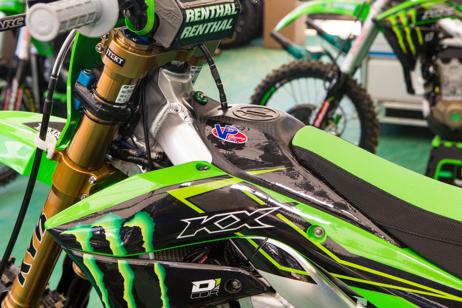 Eli Tomac's Monster Energy Kawasaki KX450F-SR - Vital MX Pit