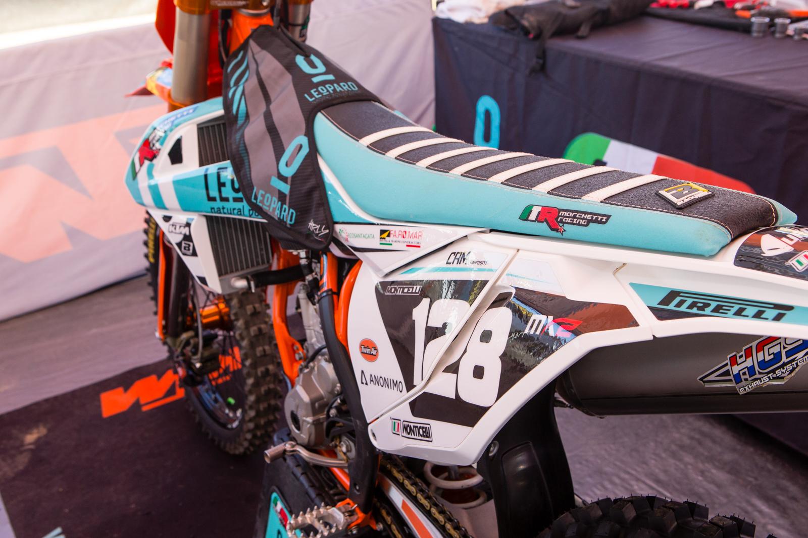 Assez Ivo Monticelli's Leopard/Marchetti Racing KTM 250 X-F - Vital MX  OP67