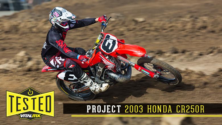 Tested: Project 2003 Honda CR250R - Motocross Videos - Vital MX