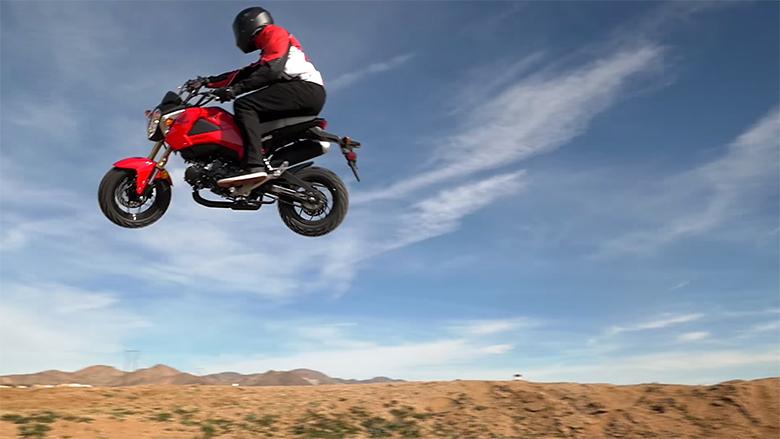 2015 Honda Grom >> Maxxis: Testing The Limits Of The Honda Grom - ML512 - Motocross Videos - Vital MX