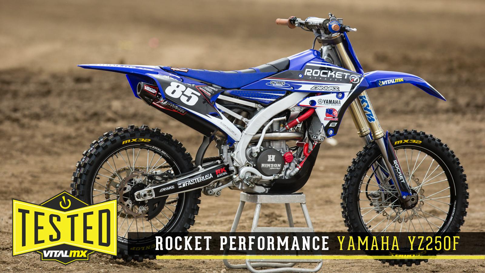 Tested rocket performance yamaha yz250f motocross for Yamaha yzf 250f
