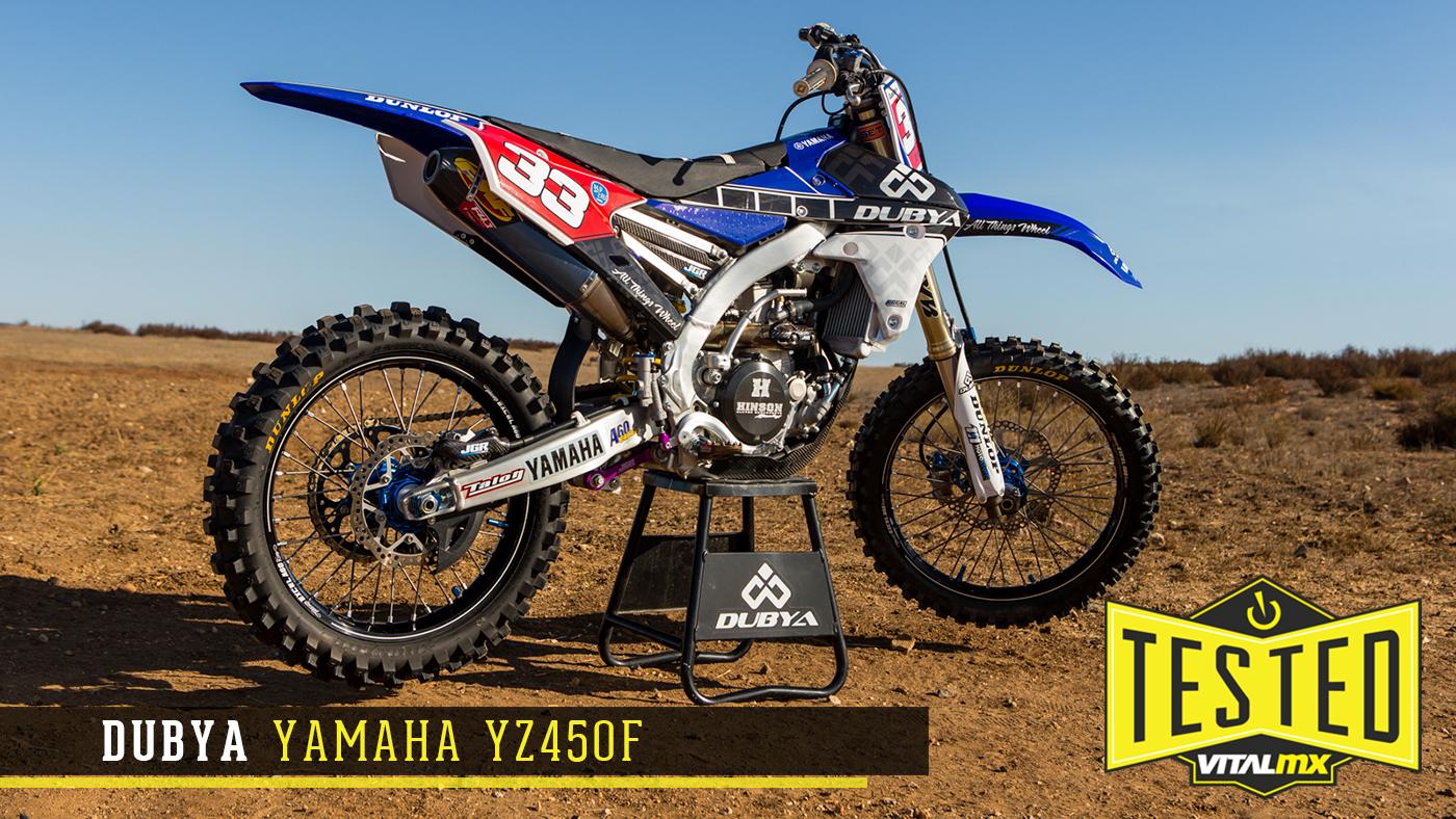 Tested dubya 2017 yamaha yz450f motocross videos vital mx for 2017 yamaha yz450f