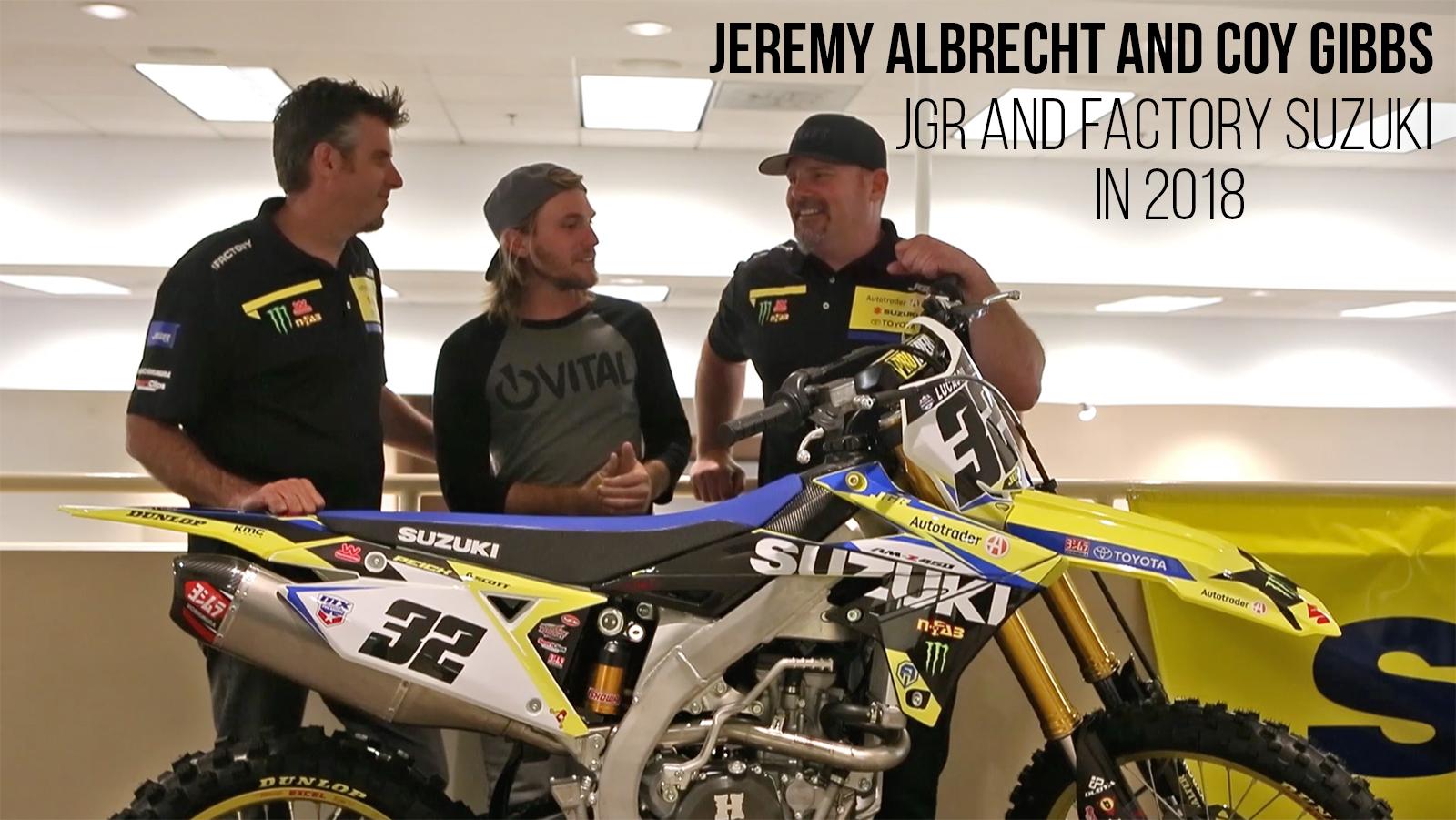 2018 suzuki rmz 250.  250 jeremy albrecht and coy gibbs on jgr factory suzuki in 2018  motocross  videos vital mx intended suzuki rmz 250