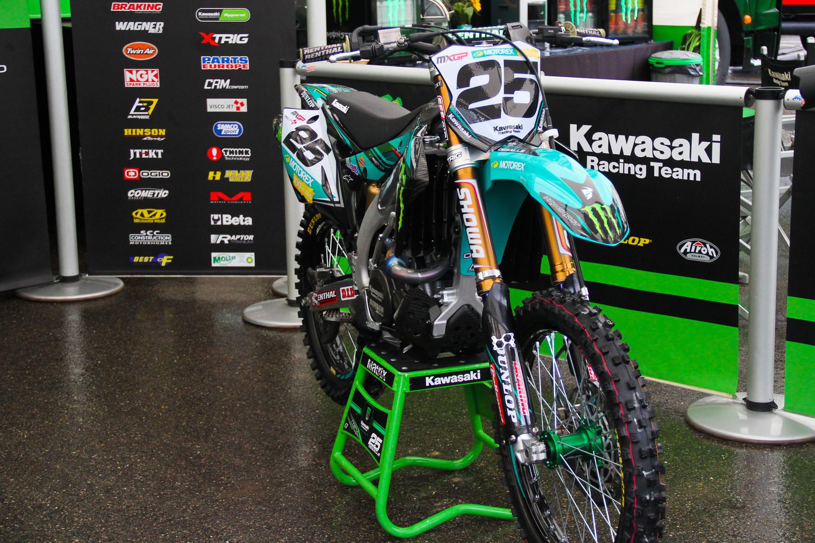 Clement Desalle Bike - ayearinmx - Motocross Pictures - Vital MX