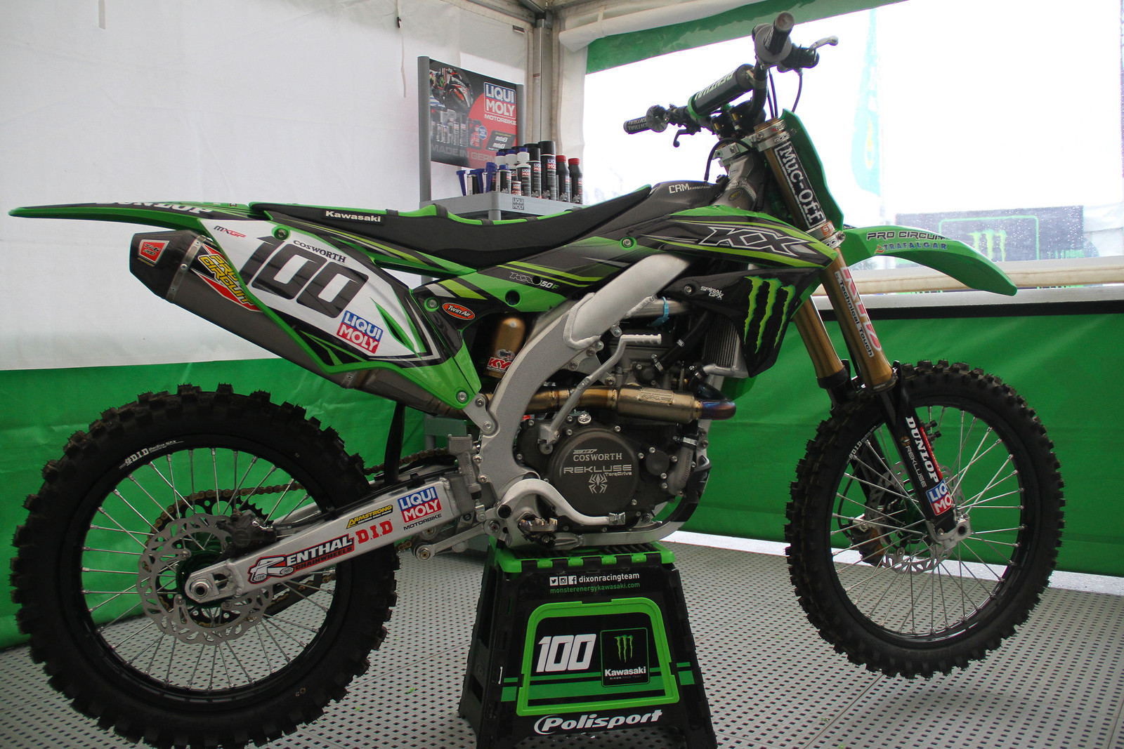 Tommy Searle Bike - ayearinmx - Motocross Pictures - Vital MX