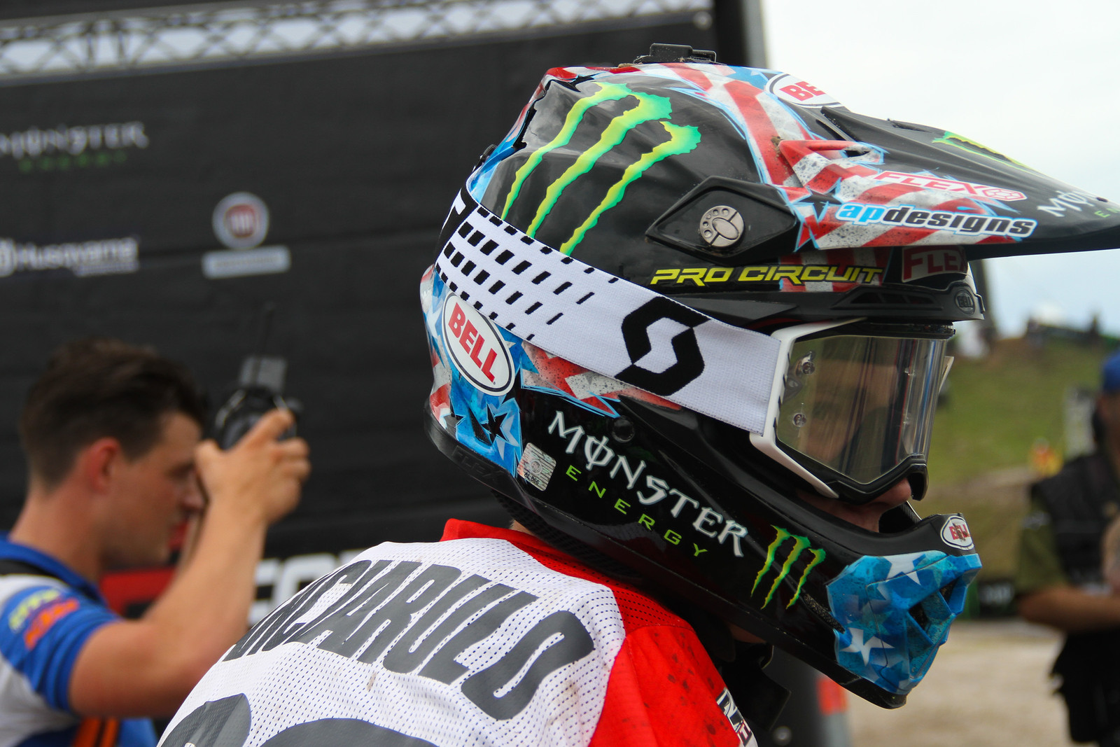 Adam Cianciarulo Helmet - ayearinmx - Motocross Pictures - Vital MX