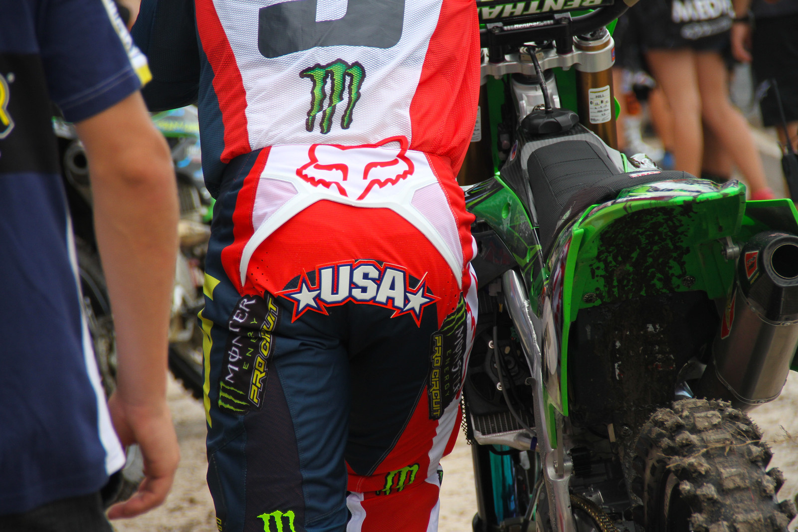 Justin Hill Buttpatch - ayearinmx - Motocross Pictures - Vital MX