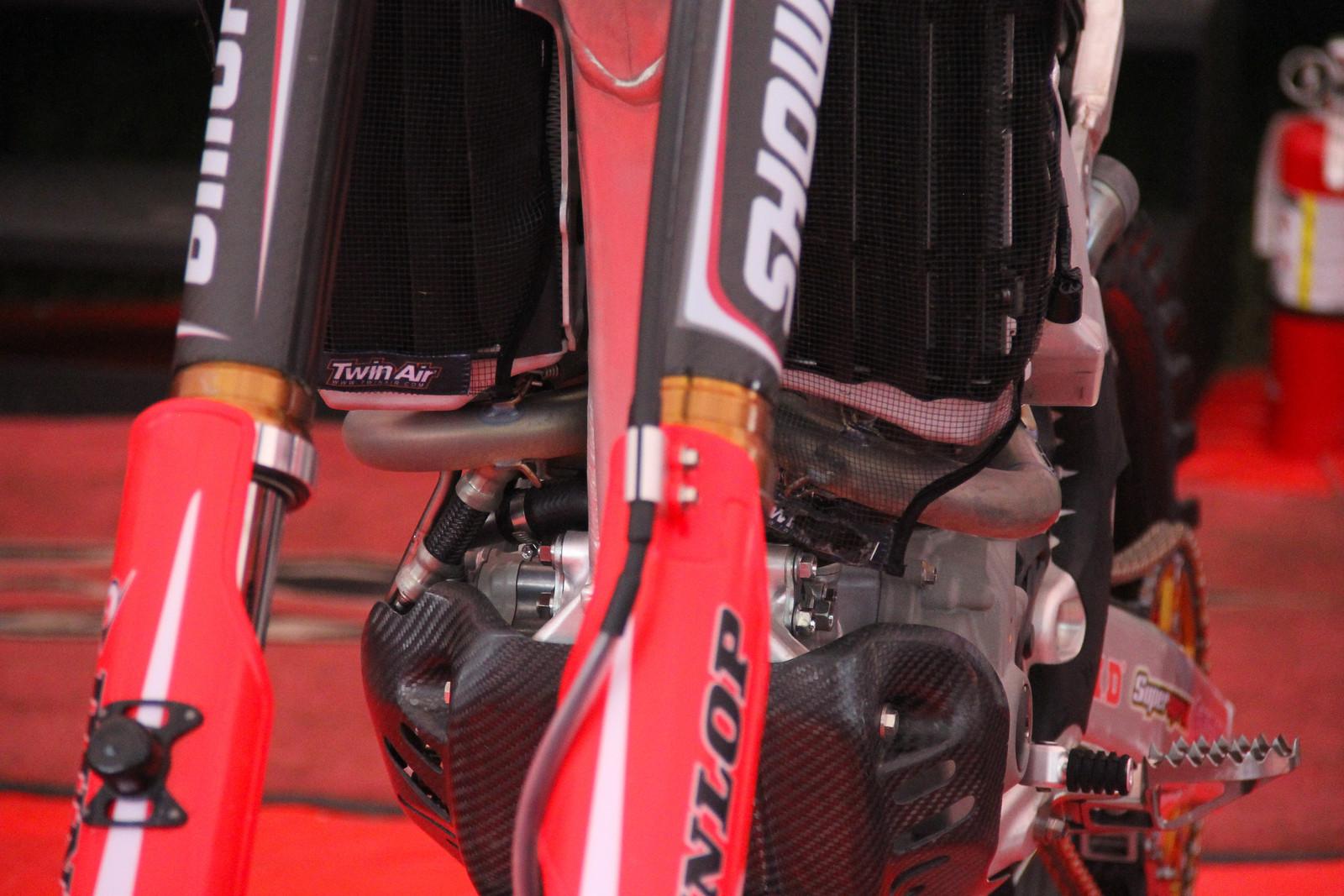 2018 Honda 250R Header - ayearinmx - Motocross Pictures - Vital MX