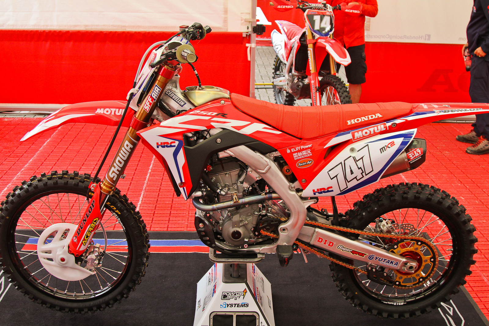 2018 Honda CRF250RW - Left Side - Michele Cervellin - ayearinmx - Motocross Pictures - Vital MX