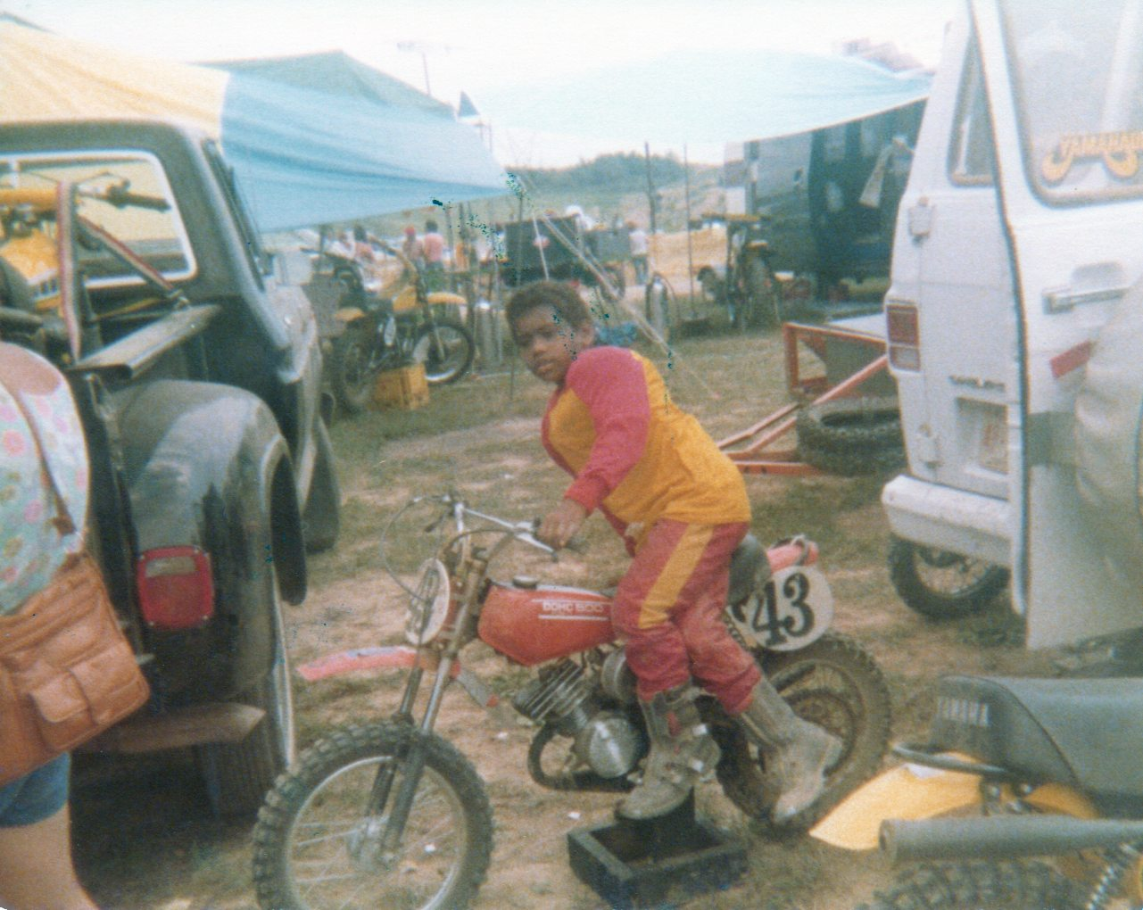 At Mount Morris Mickey Haynes 43 Motocross Pictures