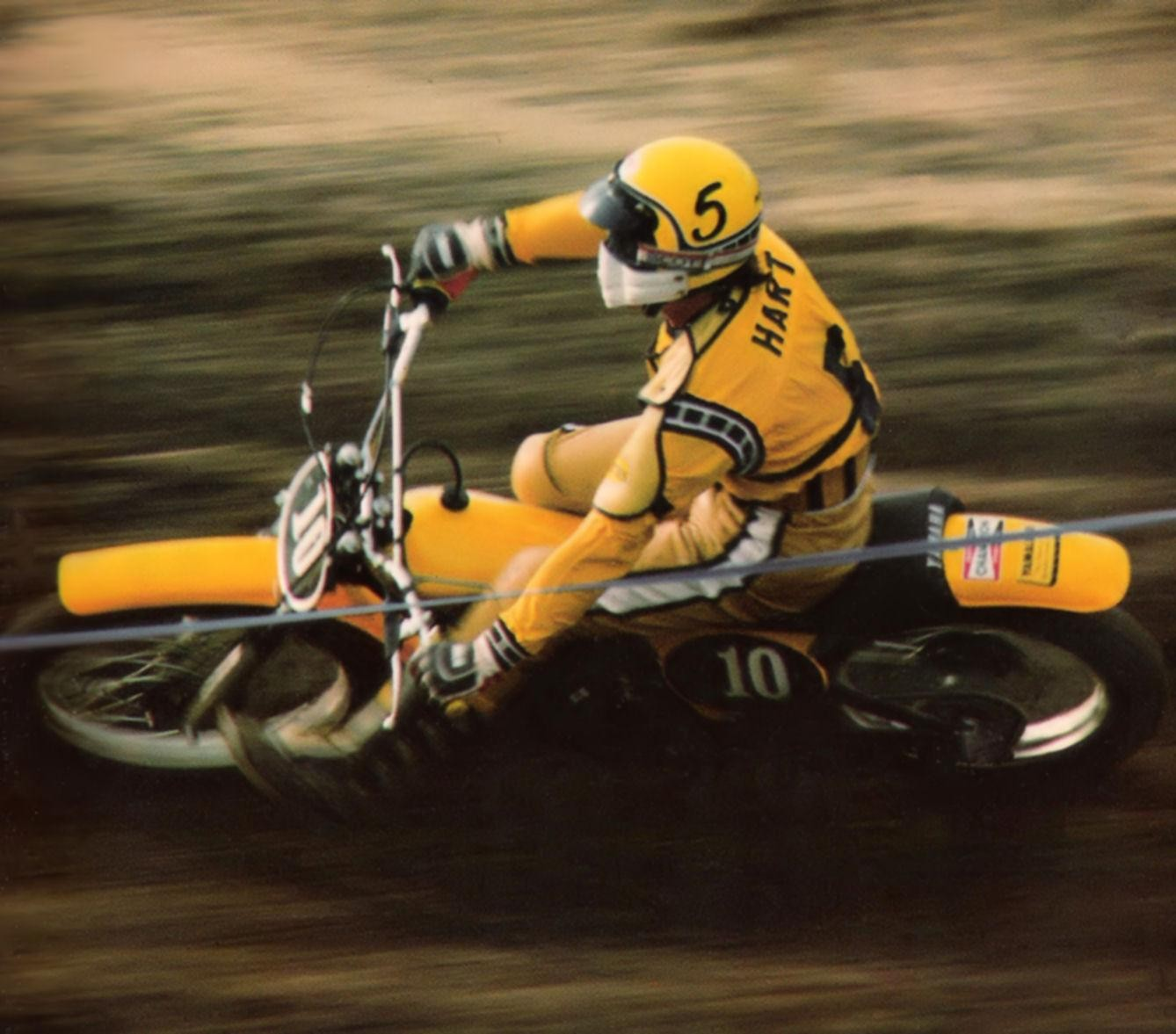 Tim Hart 1974 or 1975 - Stoneface - Motocross Pictures - Vital MX