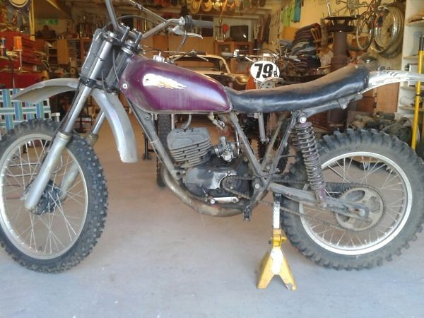 1977 Honda CR125 Roach - Mixon848 - Motocross Pictures - Vital MX