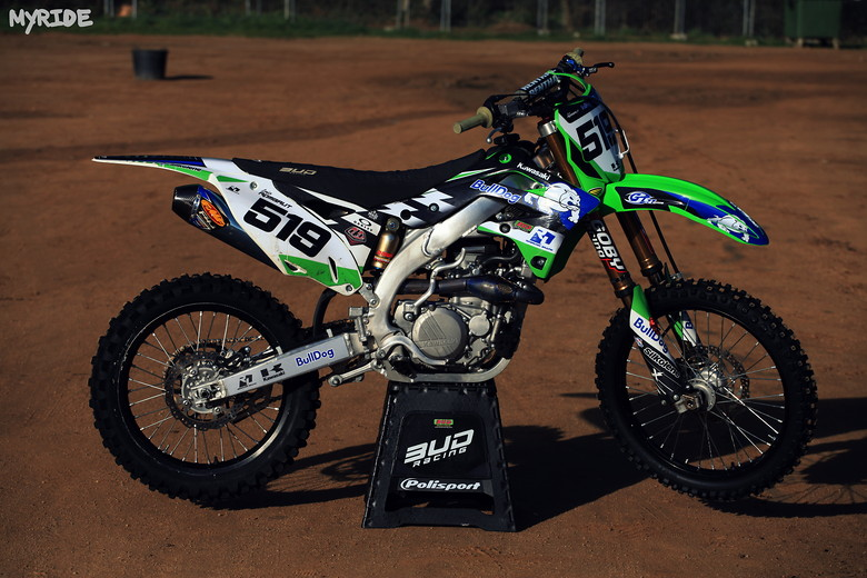 2010 Kawasaki KXF