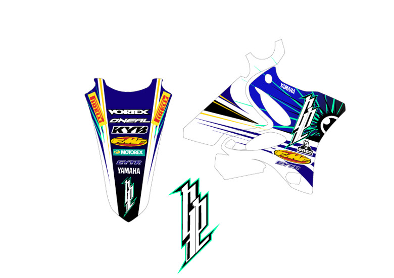 kit deco yz 250 gp guillaume prevost motocross pictures vital mx