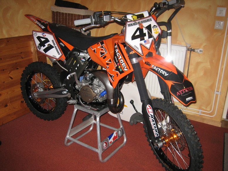ktm sx 85 2005 - mikebrownsound's bike check - vital mx