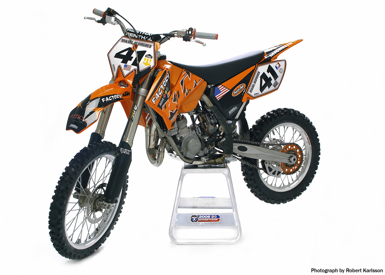 ktm sx 85 2005 mikebrownsound 39 s bike check vital mx. Black Bedroom Furniture Sets. Home Design Ideas