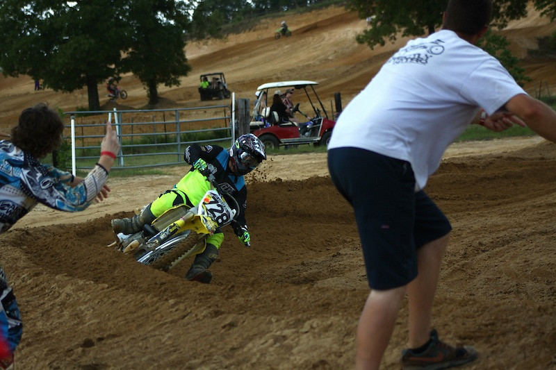 Shane Cobb and Alan Burton cheering on Hunter Mims - DanielleChaffin728 - Motocross Pictures - Vital MX