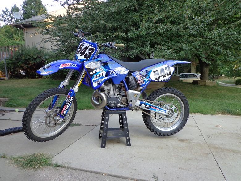 Moto543 U0026 39 S 2001 Yz250 - Moto543 U0026 39 S Bike Check