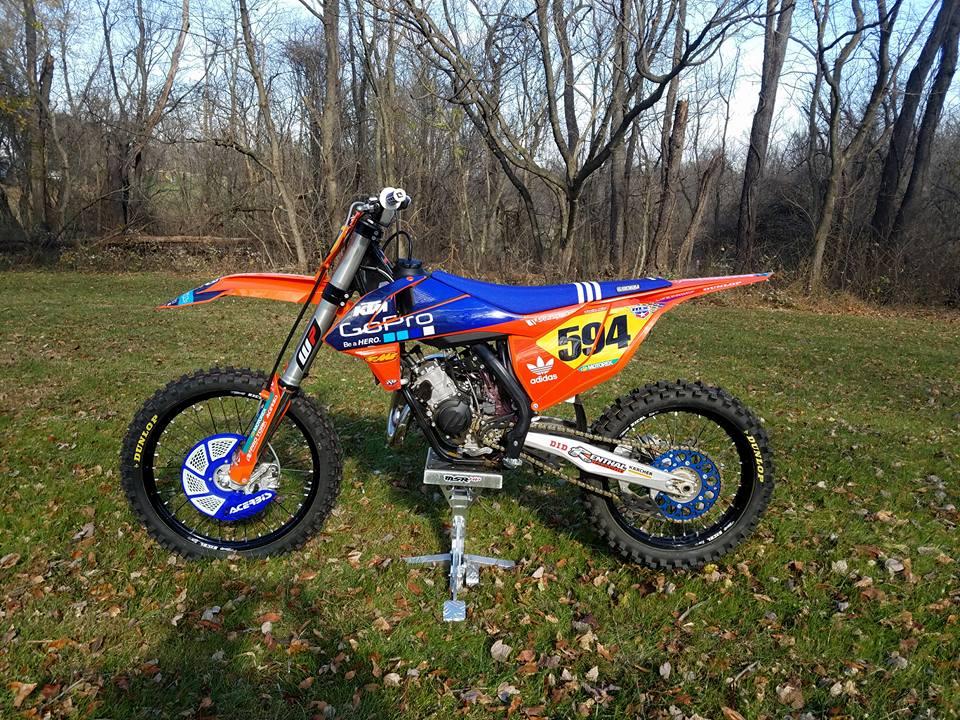 2016 ktm 150sx - tblazier's bike check - vital mx