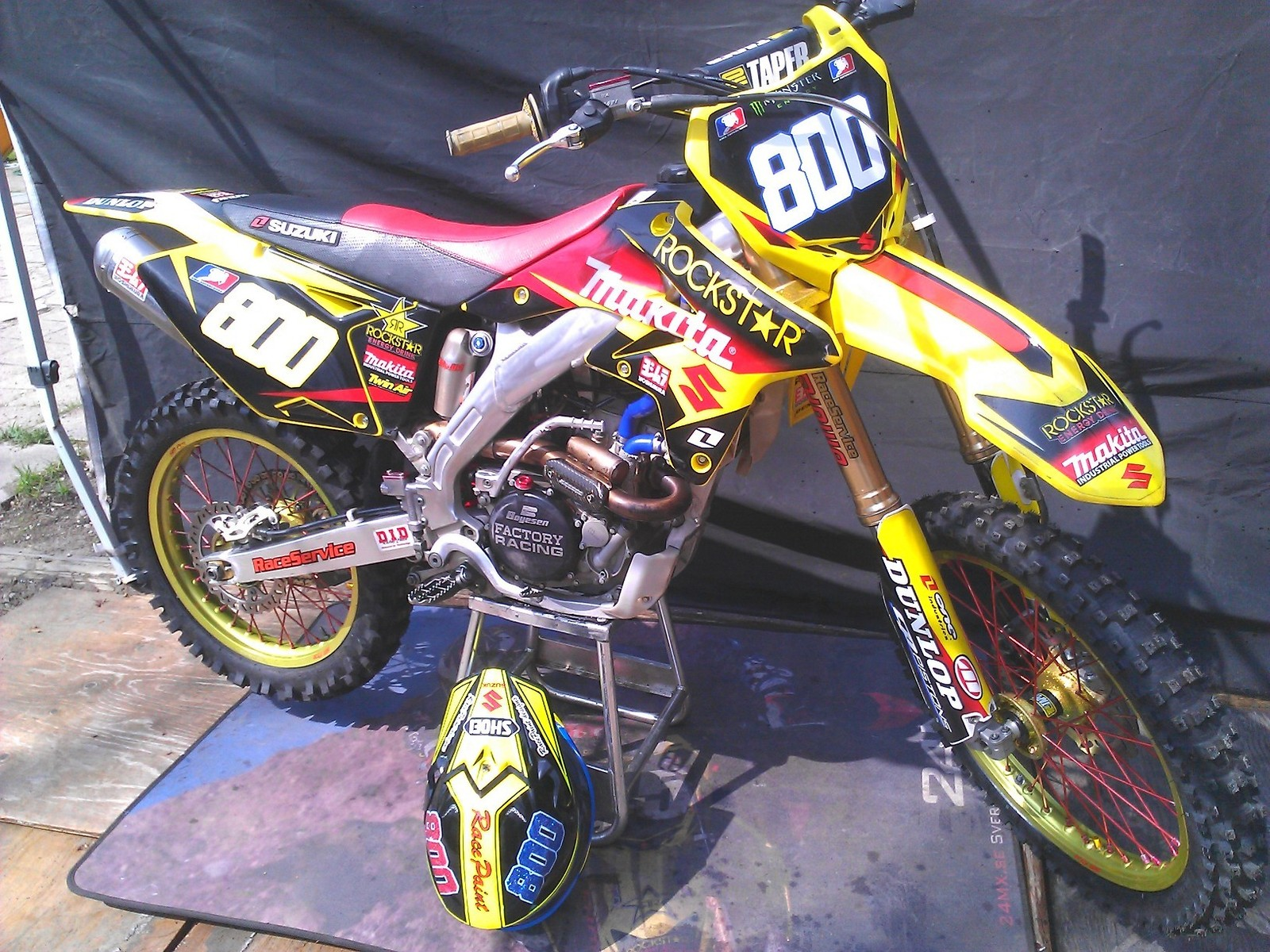 raceservice suzuki rmz 250 2009 raceservice 39 s bike check. Black Bedroom Furniture Sets. Home Design Ideas