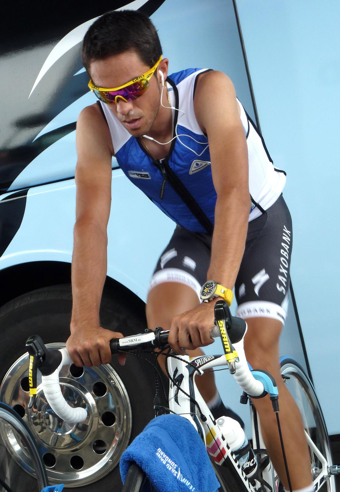 Alberto Contador Tour de France 2011 - techniche-intl - Motocross Pictures - Vital MX