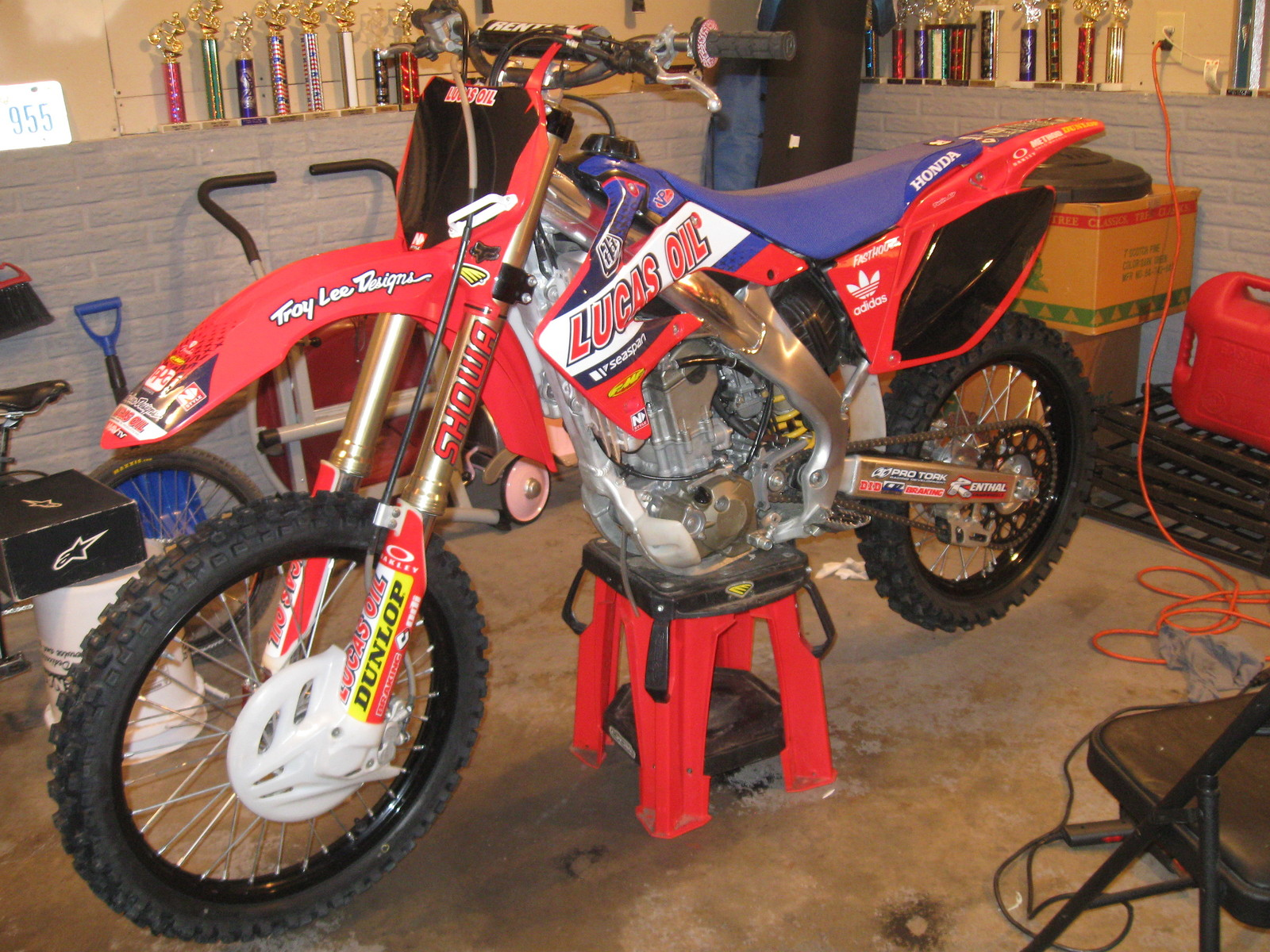 Mirramaxx S 2008 Crf250r Mirramaxx S Bike Check Vital Mx