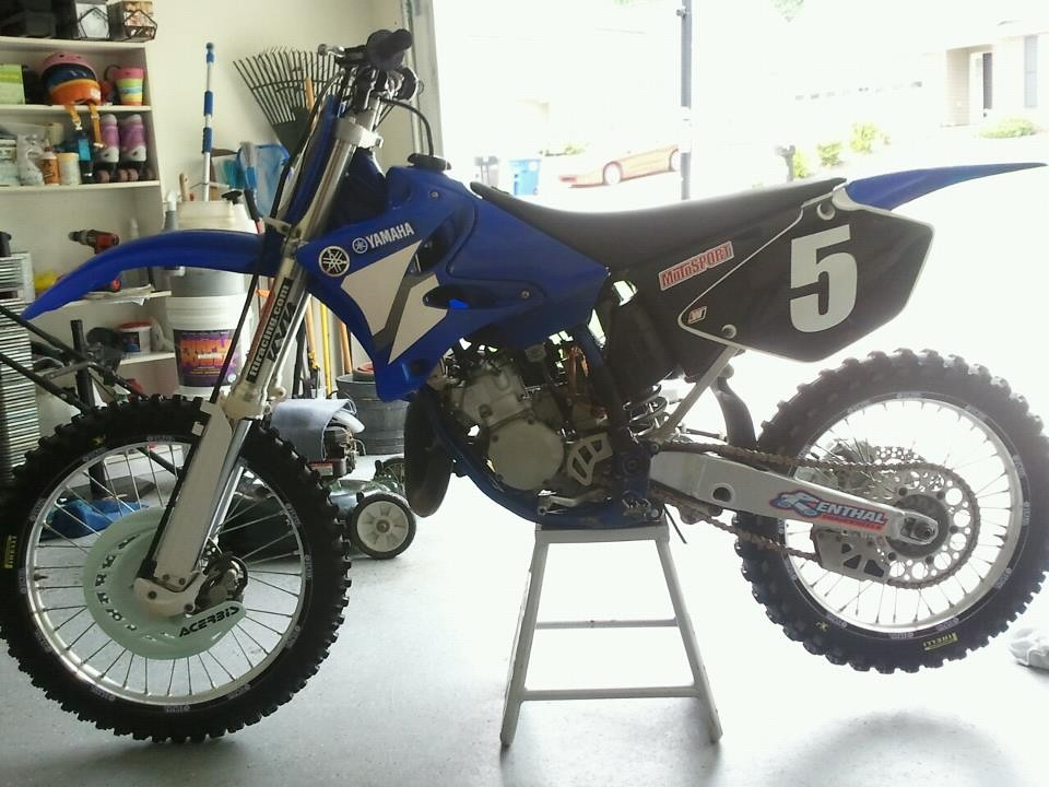 Painted the letters on the tires - antonio.dobson - Motocross Pictures - Vital MX