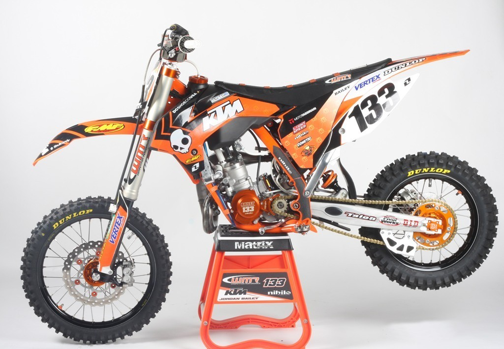 jordan bailey 39 s orange brigade ktm 85 wmr nihilo 39 s bike check vital mx. Black Bedroom Furniture Sets. Home Design Ideas