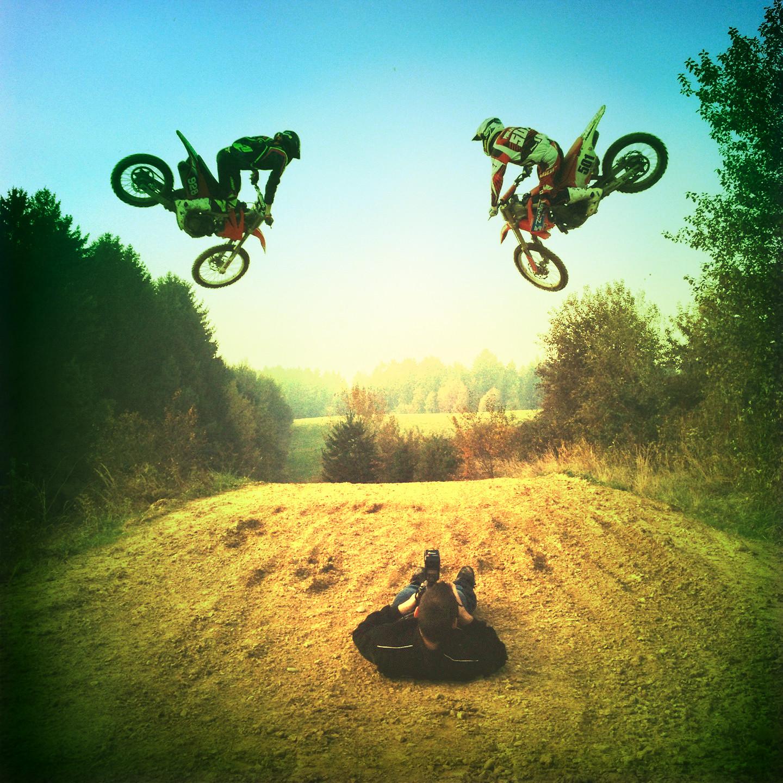 Toni Mulec #501 & Ian Katanec #928 - RJ912 - Motocross Pictures - Vital MX