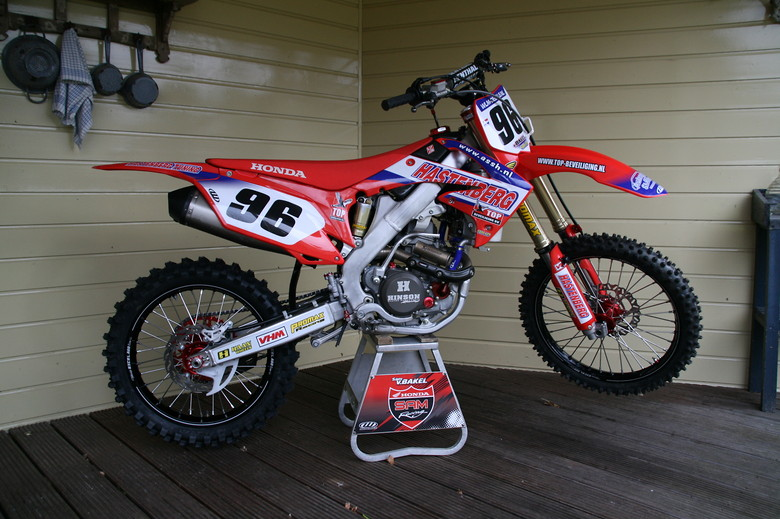 honda crf 250 2013 samvanbakel 96 39 s bike check vital mx. Black Bedroom Furniture Sets. Home Design Ideas