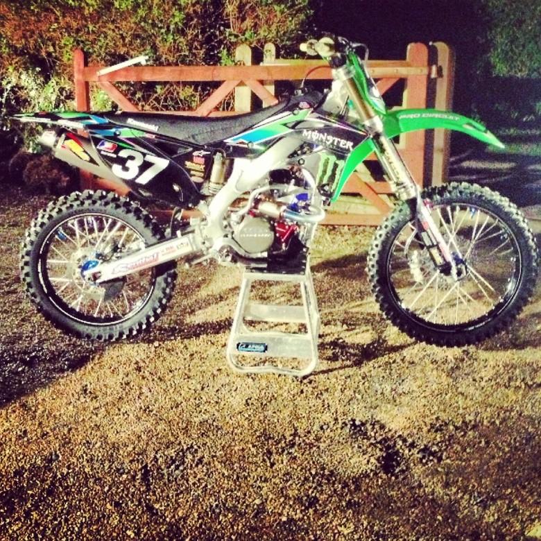 My 2013 race bike - Deano37 - Motocross Pictures - Vital MX Race Bike Photos 2013