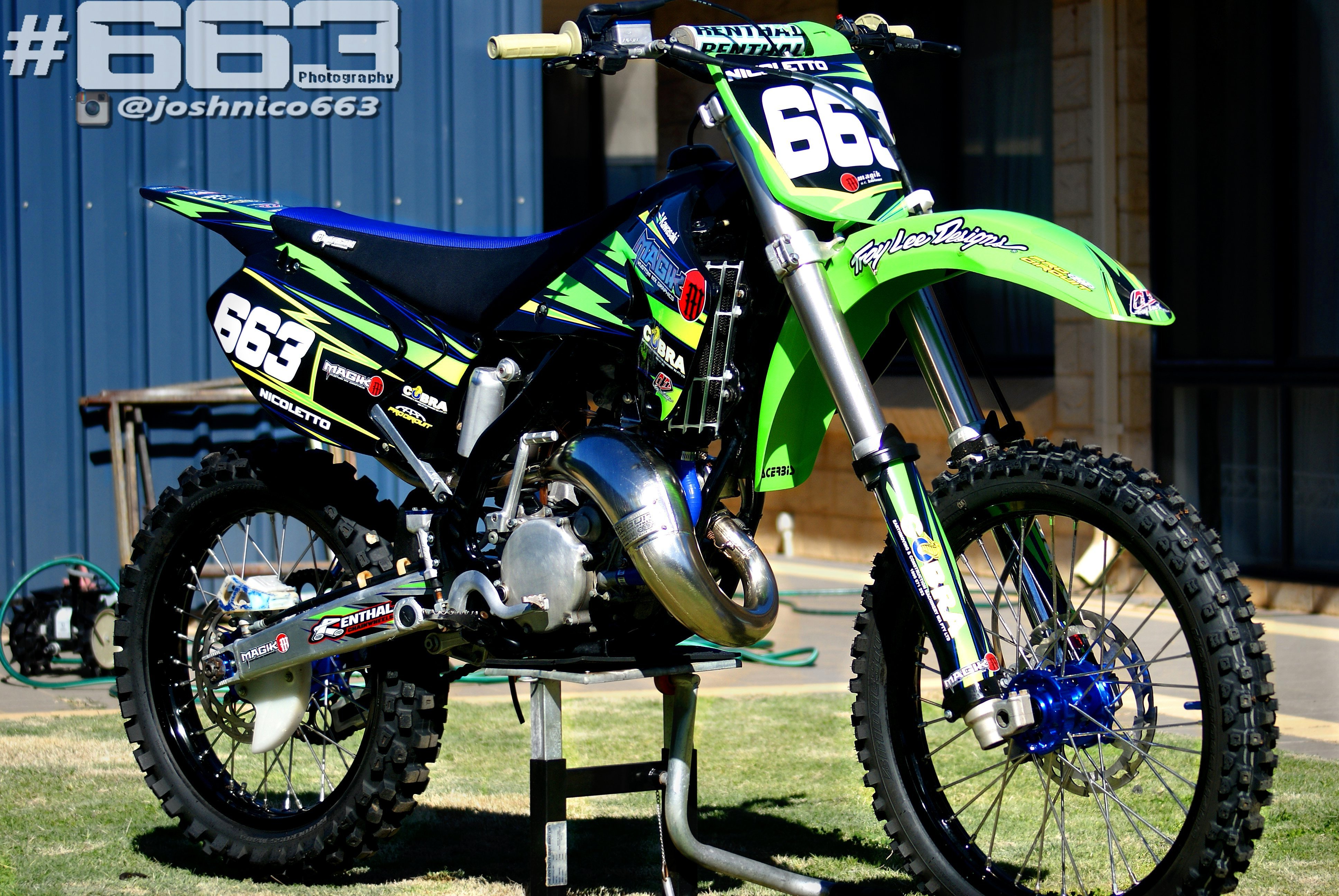2004 Kx125 Rebuild Josh 663 S Bike Check Vital Mx