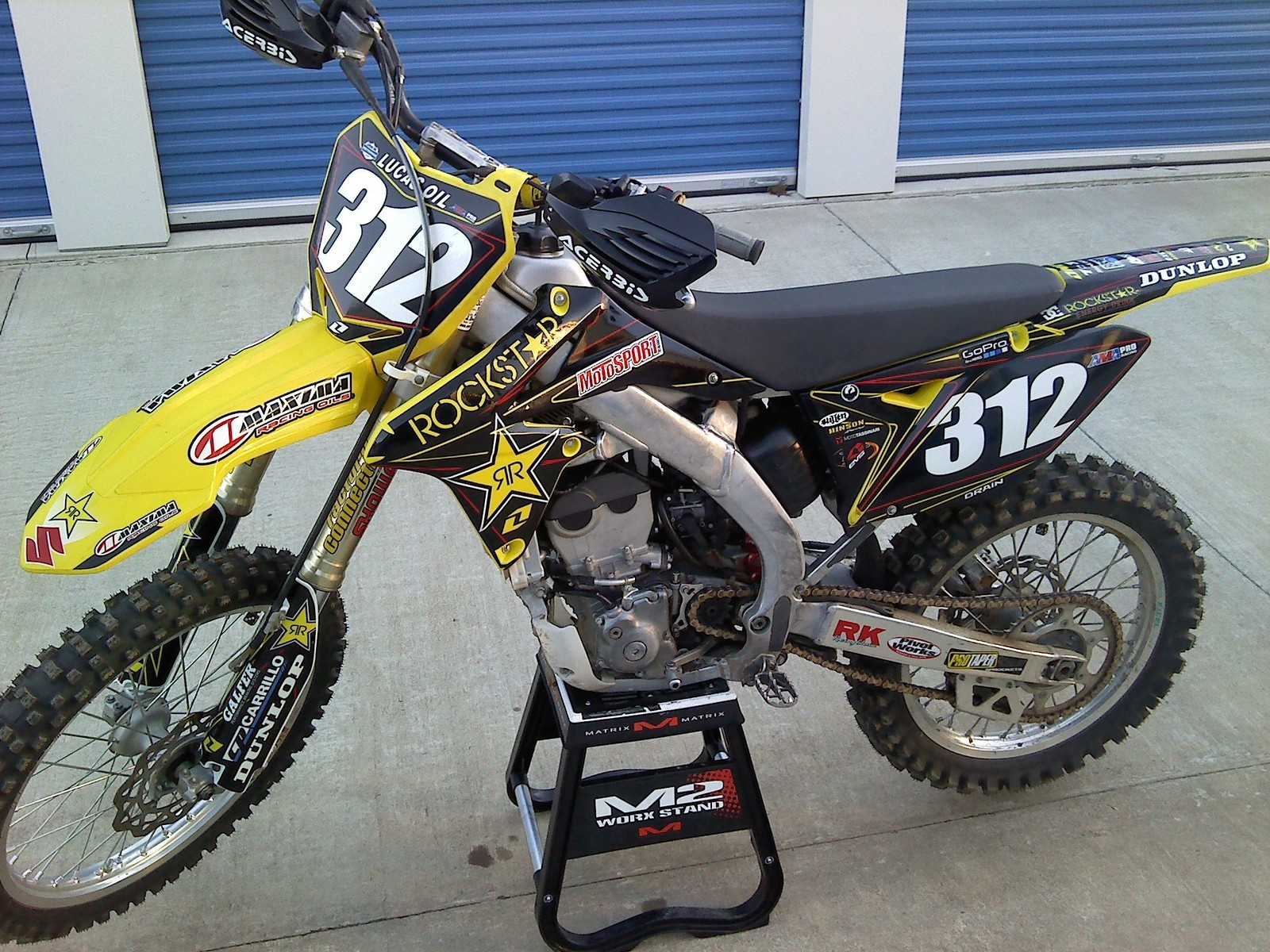 2011 rmz 250 rockstar suzuki drain312 39 s bike check. Black Bedroom Furniture Sets. Home Design Ideas