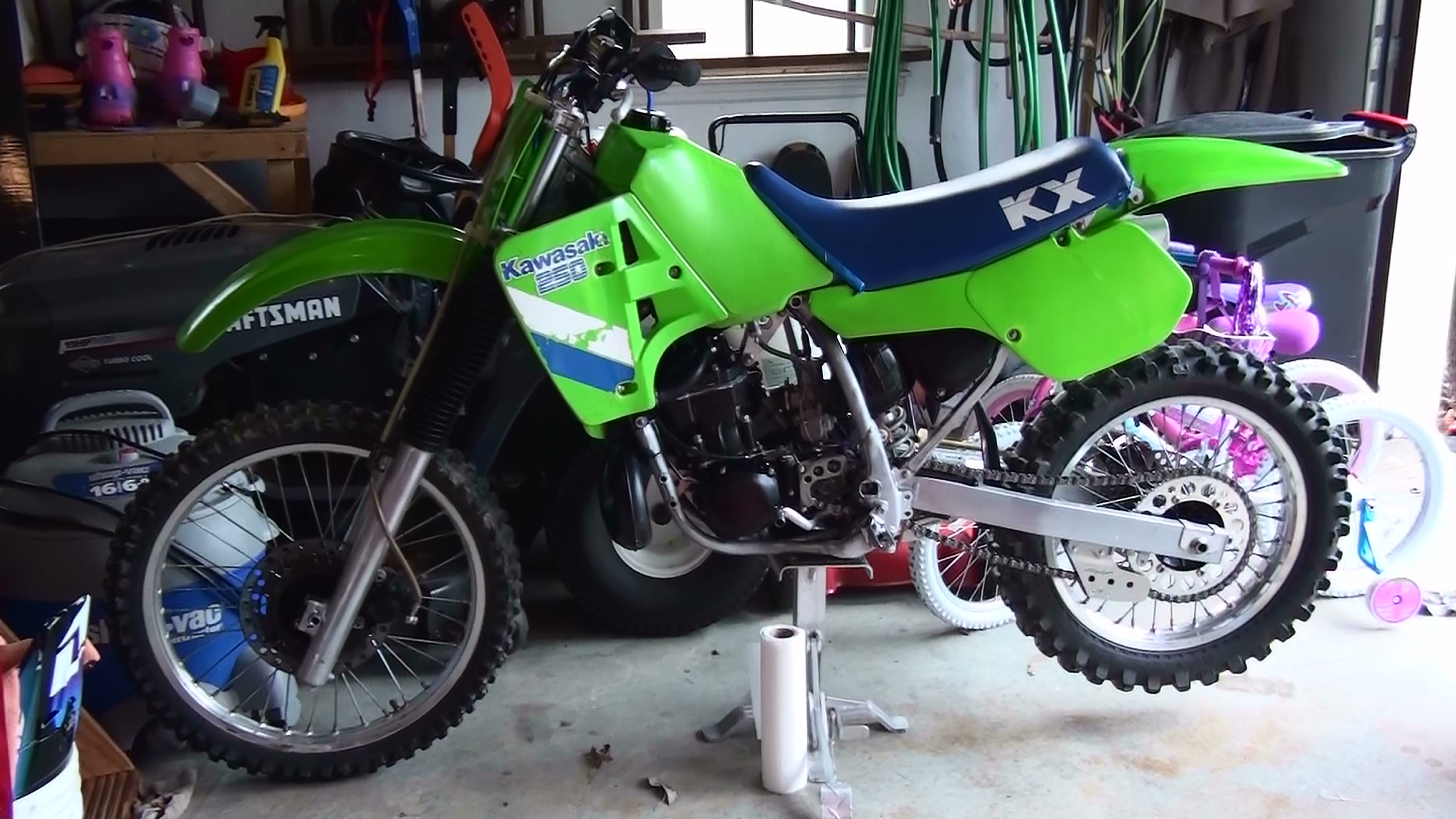 1987 Kx250 Ab517 S Bike Check Vital Mx