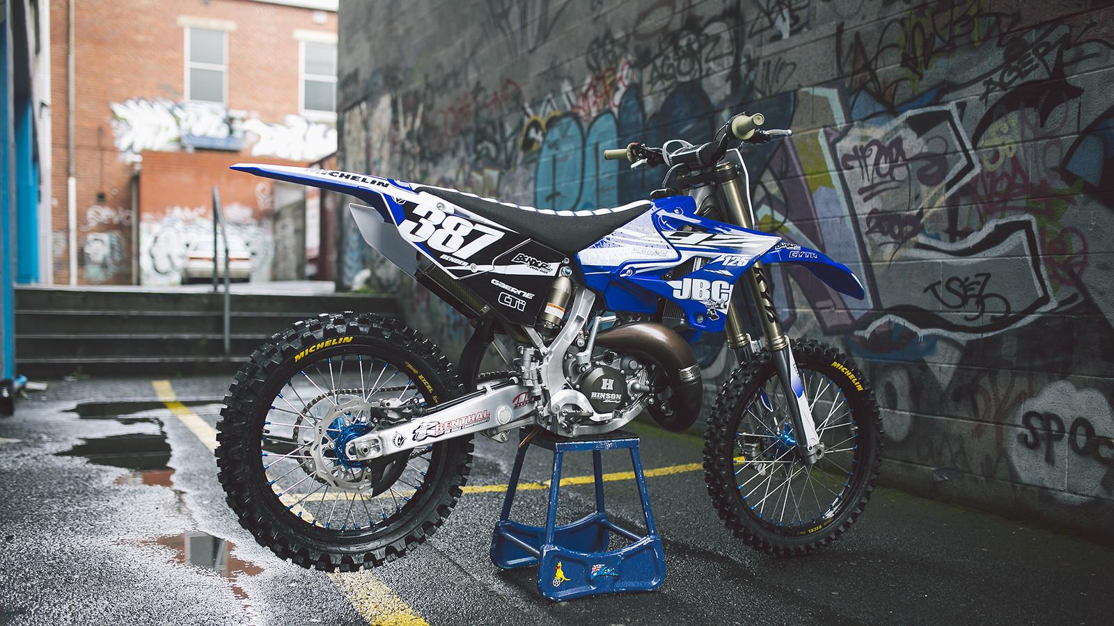 Yz 125 Bender387 S Bike Check Vital Mx
