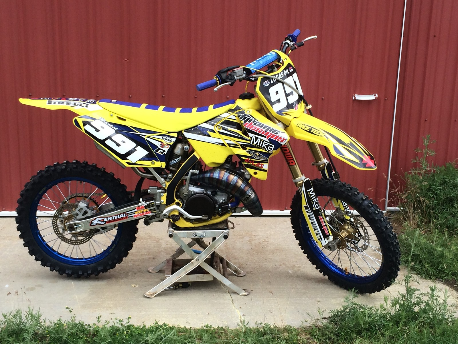natehartel 39 s 2005 suzuki rm 125 natehartel 39 s bike check vital mx. Black Bedroom Furniture Sets. Home Design Ideas