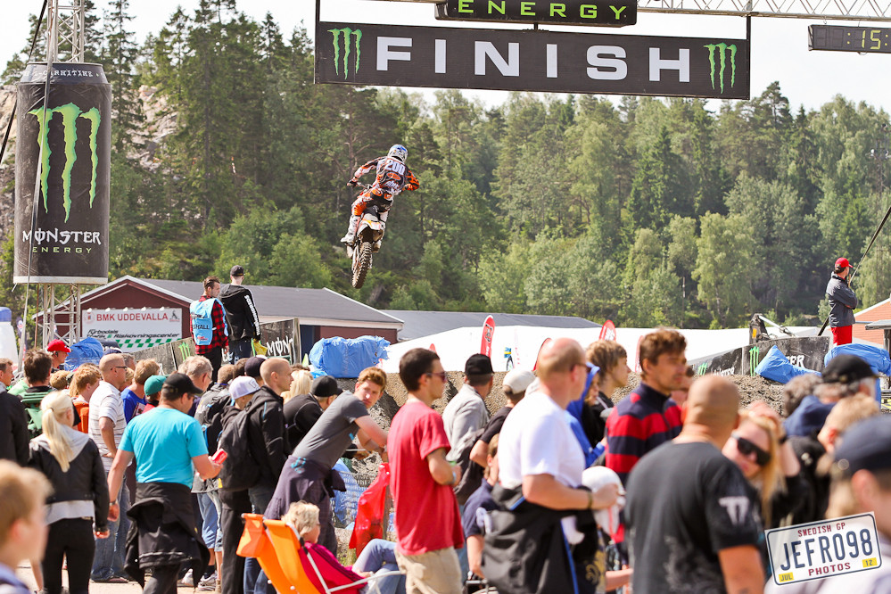 Swedish crowd - Swedish GP, Saturday pitbits - Motocross Pictures - Vital MX