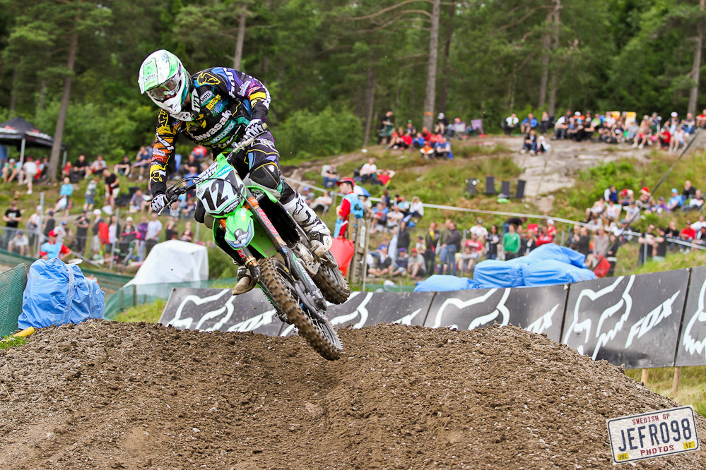 Xavier Boog - Swedish GP, Saturday pitbits - Motocross Pictures - Vital MX