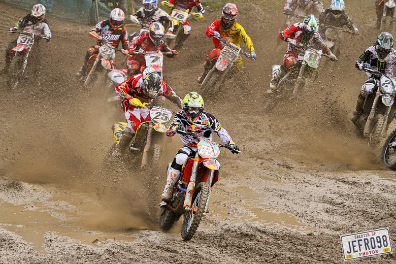 MX1 Qualifier start - Swedish GP, Saturday pitbits - Motocross Pictures - Vital MX