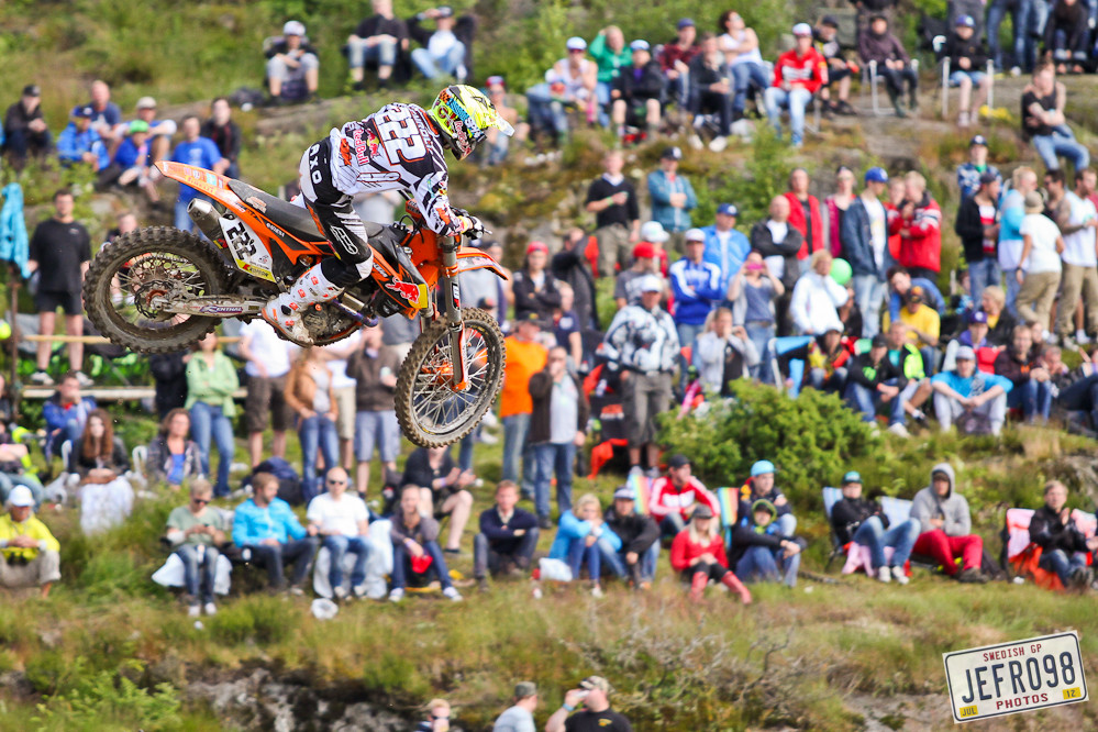 Toni Cairoli - Swedish GP, Saturday pitbits - Motocross Pictures - Vital MX