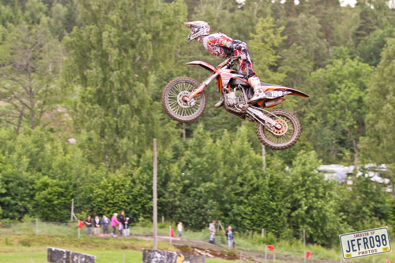 Magne Klingsheim - Swedish GP, Saturday pitbits - Motocross Pictures - Vital MX