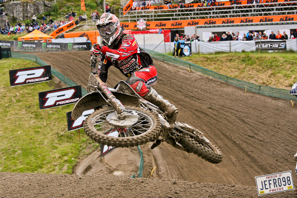 Max Anstie - Swedish GP, Saturday pitbits - Motocross Pictures - Vital MX