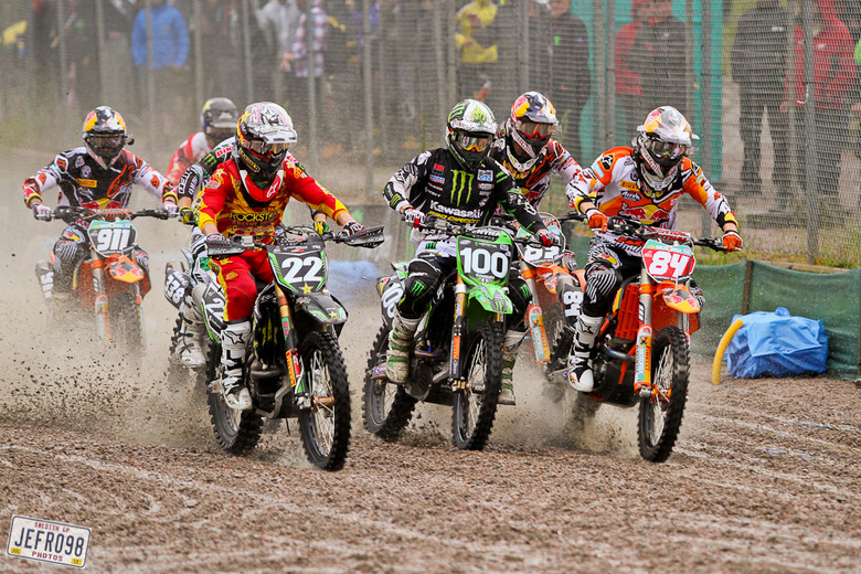 Start MX2 moto 1. - Swedish GP, Sunday racing - Motocross Pictures - Vital MX