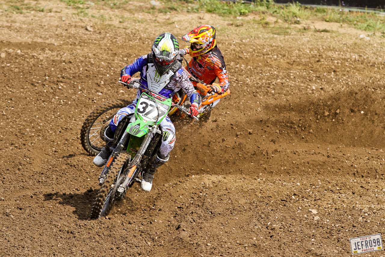Pourcel and Cairoli - Czech GP Sunday Racing pictures - Motocross Pictures - Vital MX