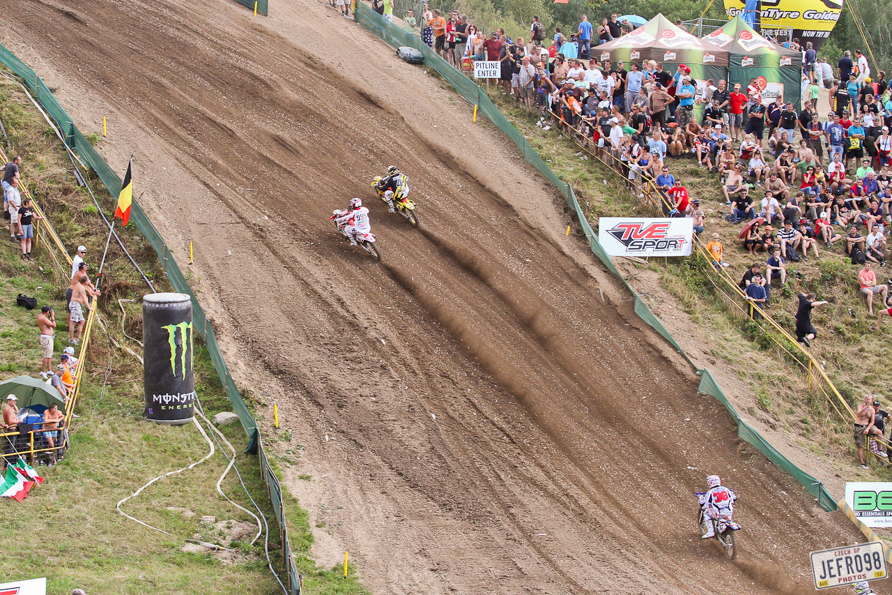 Goncalves vs Leok - Czech GP Sunday Racing pictures - Motocross Pictures - Vital MX