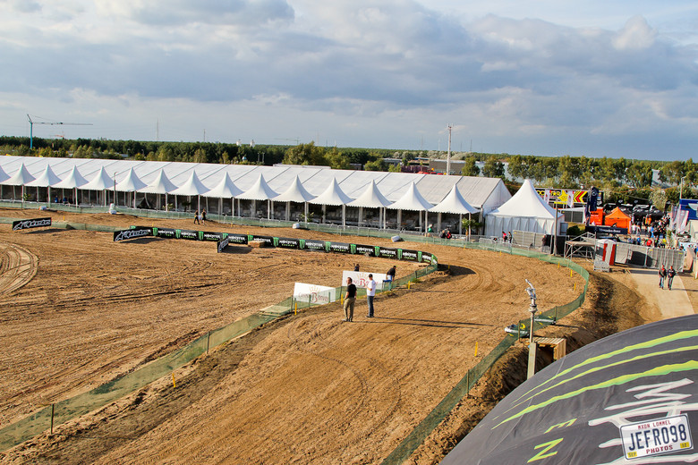 Lommel track view - MXoN Friday Track Walk & Bikes - Motocross Pictures - Vital MX
