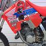 1989 VRP Mugen Honda CR 125  Italian VRP aluminium chassis, swingarm,subframe/airbox, gas tank  Mugen engine