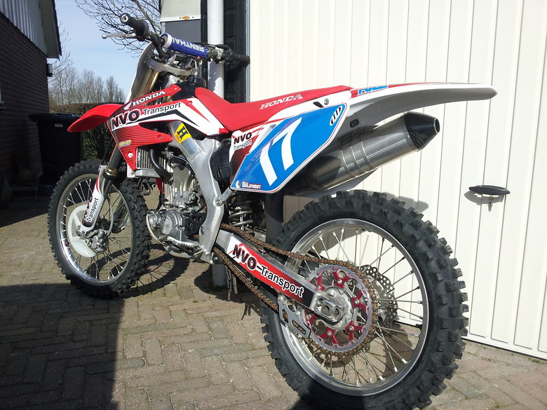 jasper 39 s honda crf 250 2009 jasper drijfhout 39 s bike check vital mx. Black Bedroom Furniture Sets. Home Design Ideas