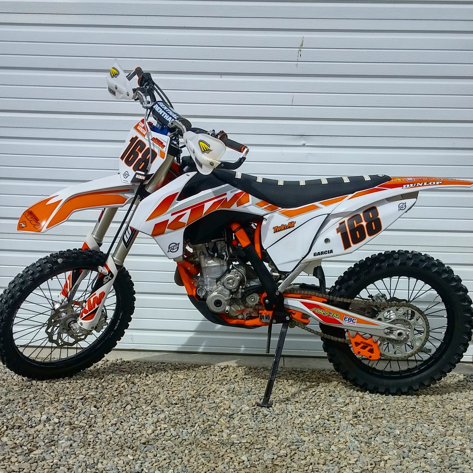 Ktm White Graphics