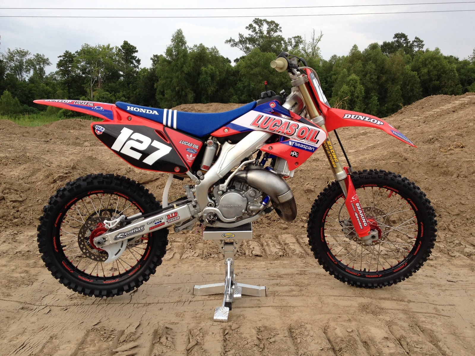 2007 honda cr 125 last year of the cr 2 smokers nomuff2tuff 39 s bike check vital mx. Black Bedroom Furniture Sets. Home Design Ideas